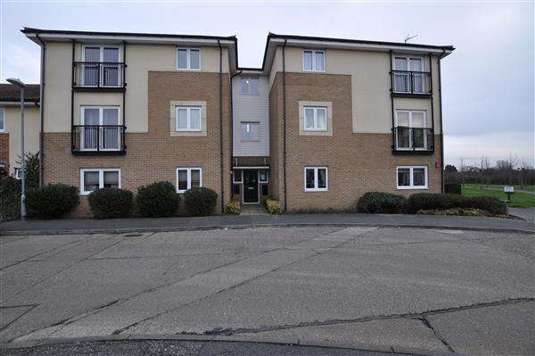 2 Bedrooms Apartment Flat for sale in Hobart Close, Chelmsford