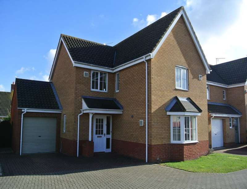 4 Bedrooms Detached House for rent in Rodber Way, Lowestoft, NR32