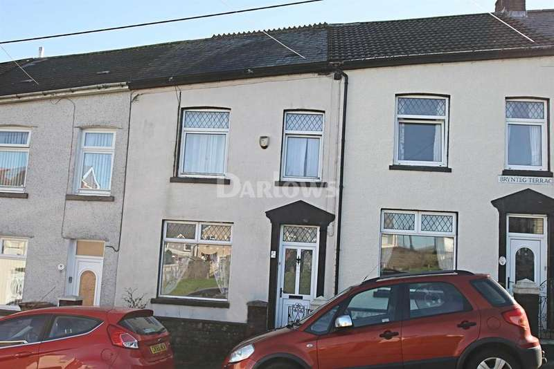 3 Bedrooms Terraced House for sale in Brynteg Terrace Fochriw