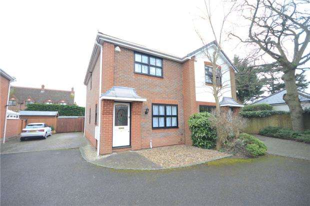 2 Bedrooms Semi Detached House for sale in Springfield Mews, Surley Row, Emmer Green