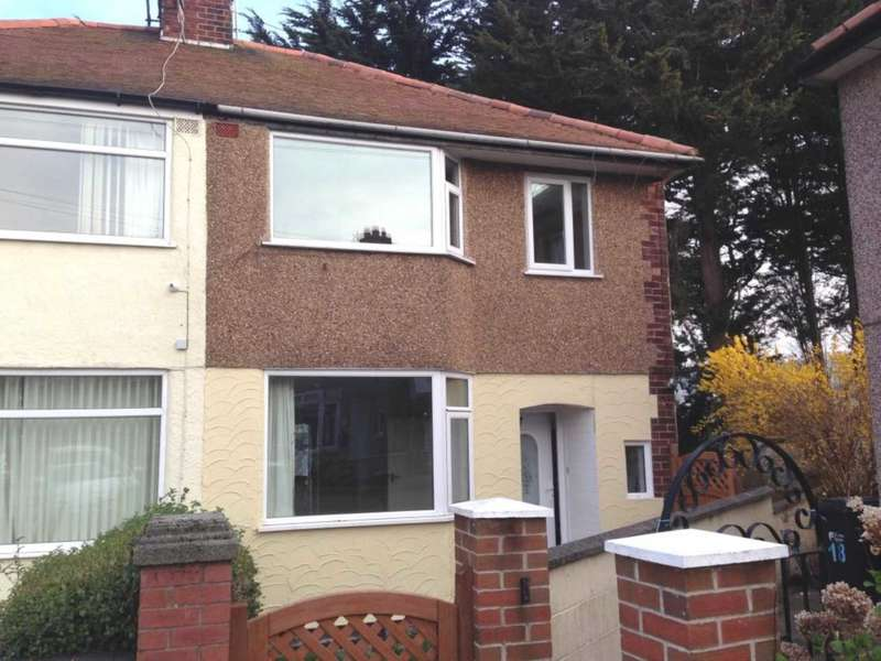 3 Bedrooms Semi Detached House for rent in Pen- Y-Maes Gardens, Holywell, CH8 7BL