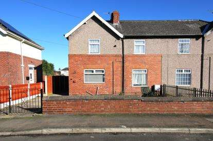 3 Bedrooms Semi Detached House for sale in Laurel Terrace, Skellow, Doncaster