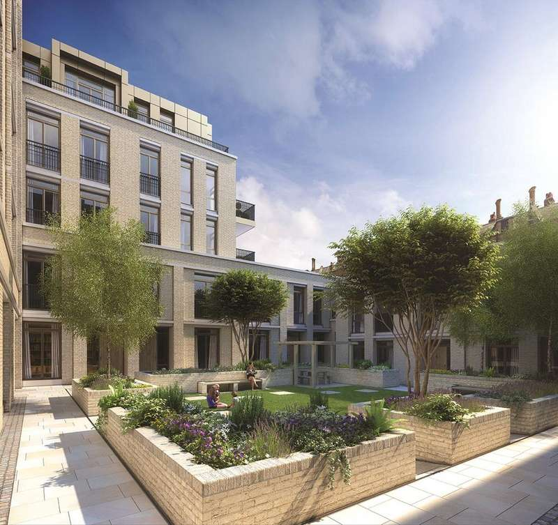 3 Bedrooms Flat for sale in Young Street, London, W8
