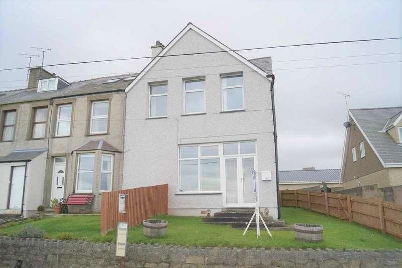 2 Bedrooms End Of Terrace House for sale in Pistyll Terrace, Pistyll