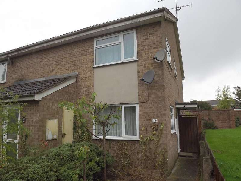 1 Bedroom Flat for sale in Ridgeway, Stowmarket IP14