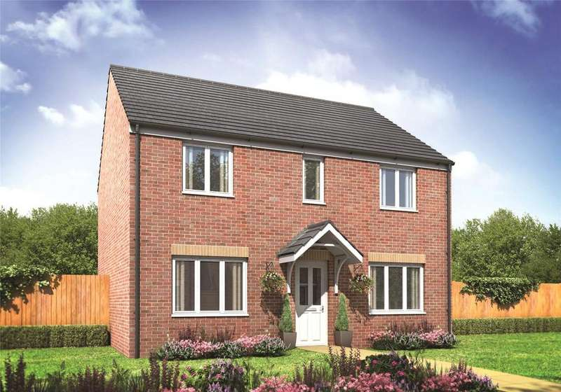 4 Bedrooms Detached House for sale in Plot 380 Millers Field, Manor Park, Sprowston, Norfolk, NR7