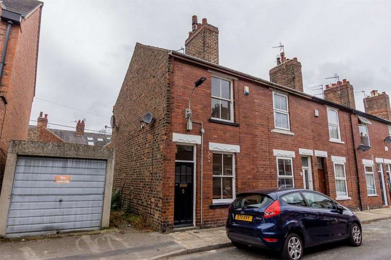 2 Bedrooms End Of Terrace House for sale in Curzon Terrace, South Bank, York