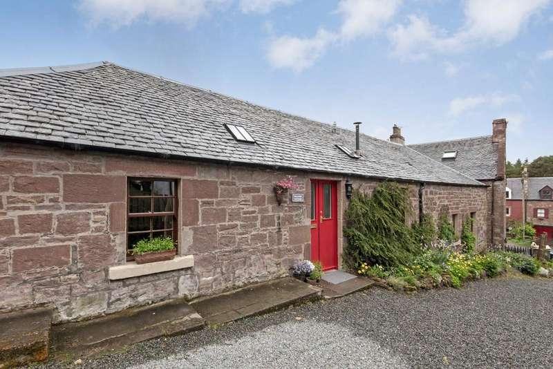 4 Bedrooms Detached House for sale in Hillside Cottage Romano Bridge, Nr West Linton, Scottish Bor