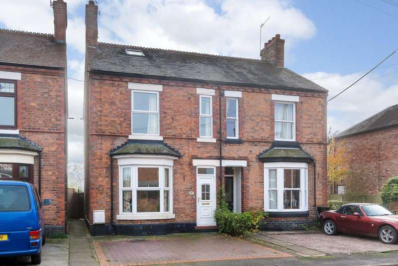 4 Bedrooms Semi Detached House for sale in Willaston, Cheshire