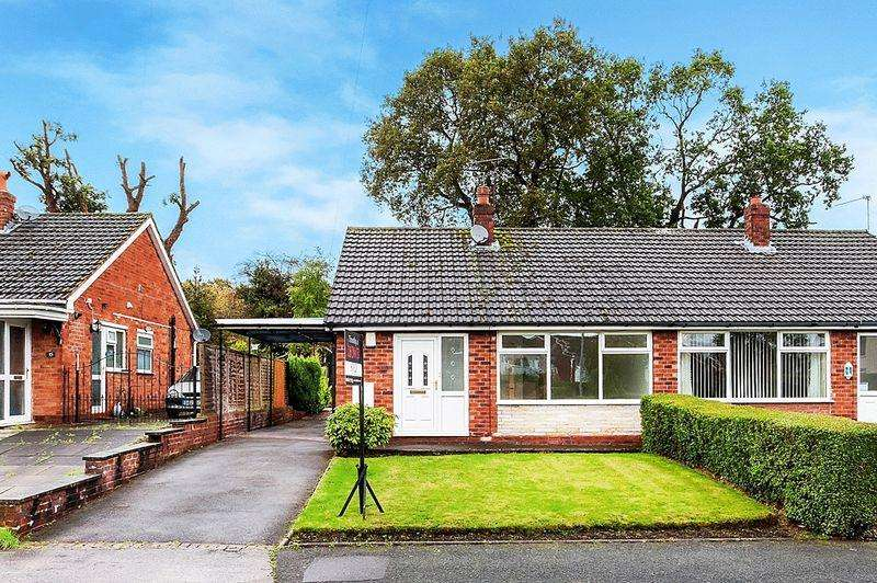 2 Bedrooms Semi Detached Bungalow for sale in Coniston Avenue, Congleton