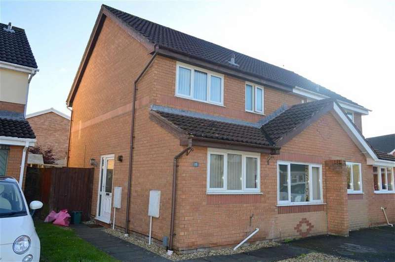 3 Bedrooms Semi Detached House for sale in Ffordd Y Gamlas, Gowerton, Swansea