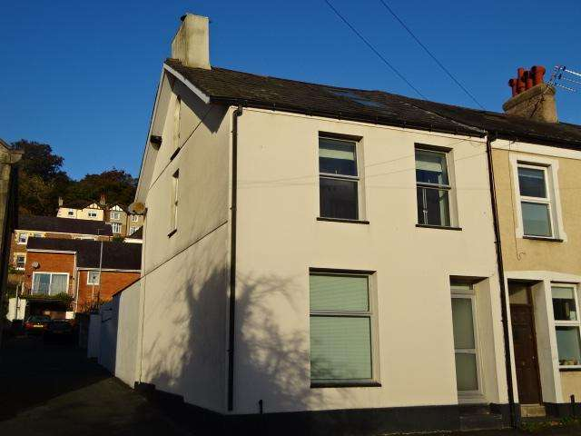 3 Bedrooms End Of Terrace House for sale in GARTH ROAD, BANGOR LL57