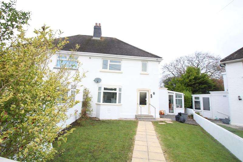3 Bedrooms Semi Detached House for sale in The Crescent , Narberth, Pembrokeshire. SA67 7DL