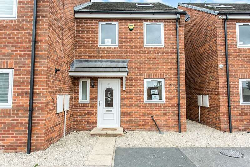 3 Bedrooms Semi Detached House for sale in Weeland Road, Sharlston Common, Wakefield, WF4
