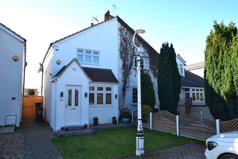3 Bedrooms Semi Detached House for sale in Tile Kiln Lane, Joydens Wood, Bexley, DA5