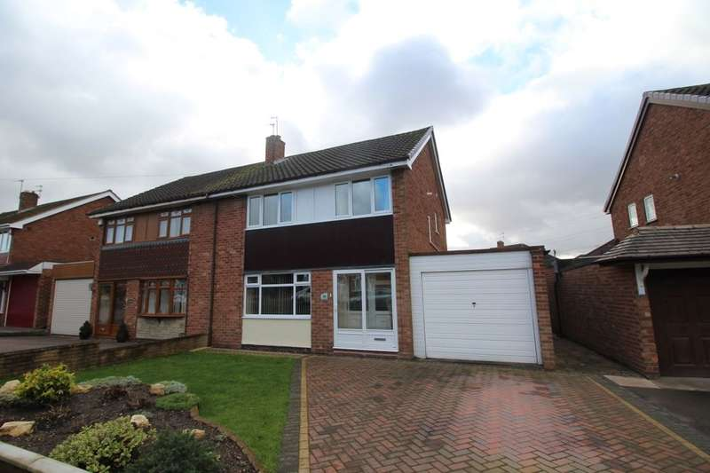 3 Bedrooms Semi Detached House for sale in Shardlow Road, Wolverhampton, WV11