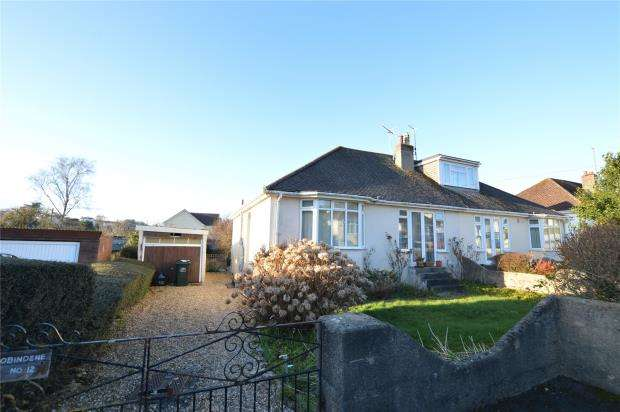 2 Bedrooms Semi Detached Bungalow for sale in Sunnyside Road, Kingskerswell, Newton Abbot, Devon