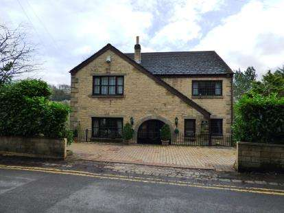 4 Bedrooms Detached House for sale in Reservoir Road, Whaley Bridge, High Peak