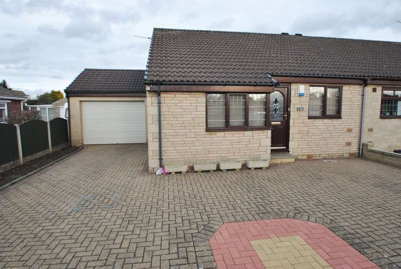 2 Bedrooms Semi Detached Bungalow for sale in Sorby Way, Wickersley