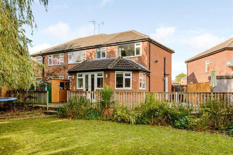 4 Bedrooms Semi Detached House for sale in Hall Orchards Avenue, Wetherby, LS22 6SN