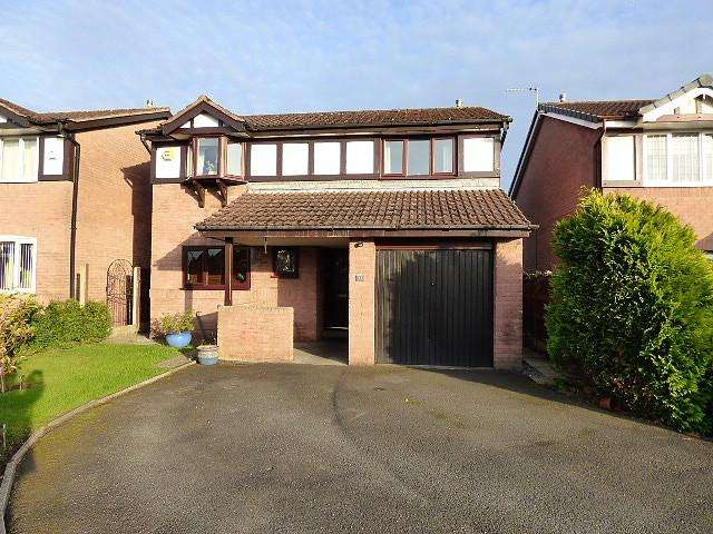 4 Bedrooms Detached House for sale in Weaver Road, Culcheth, Warrington