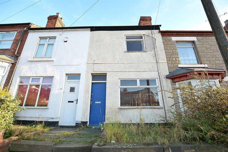 2 Bedrooms Terraced House for sale in Leeming Lane South, Mansfield Woodhouse