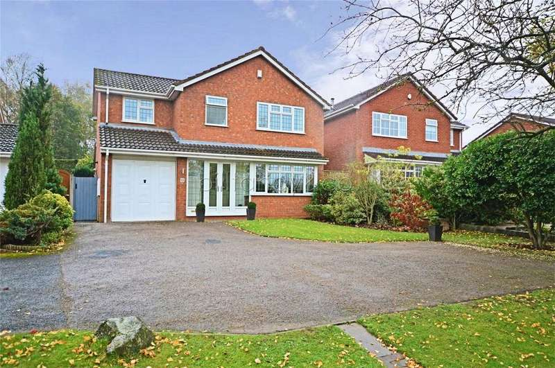 4 Bedrooms Detached House for sale in Hunslet Road, Burntwood, Staffordshire