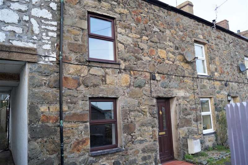 2 Bedrooms Terraced House for sale in Rhes Penmount, Pwllheli