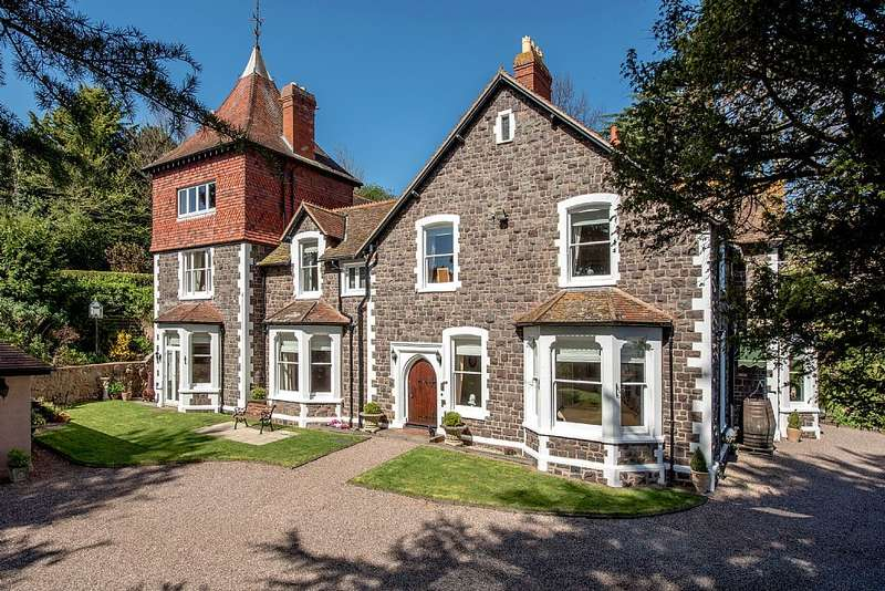7 Bedrooms Detached House for sale in Martlet Road, Minehead, Somerset, TA24 5QE