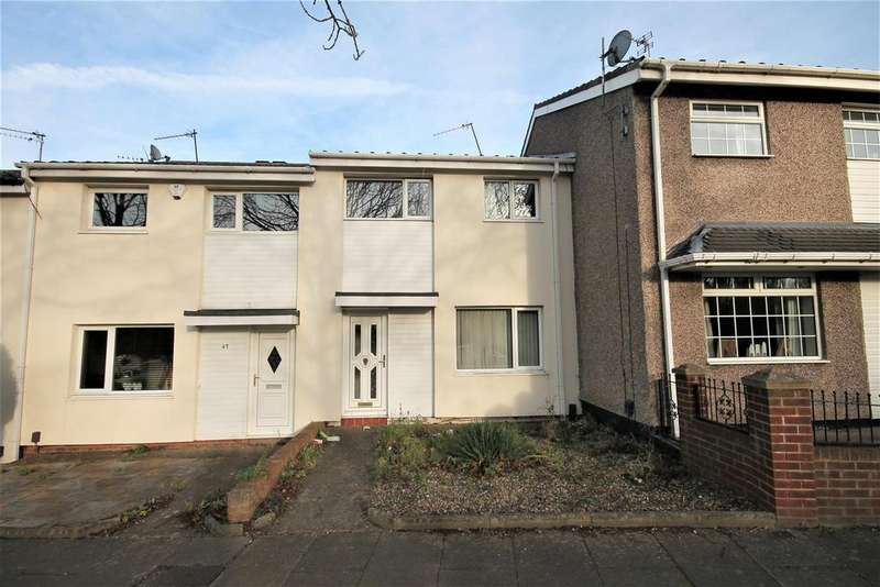 3 Bedrooms Terraced House for sale in Holmefields Road, Middlesbrough