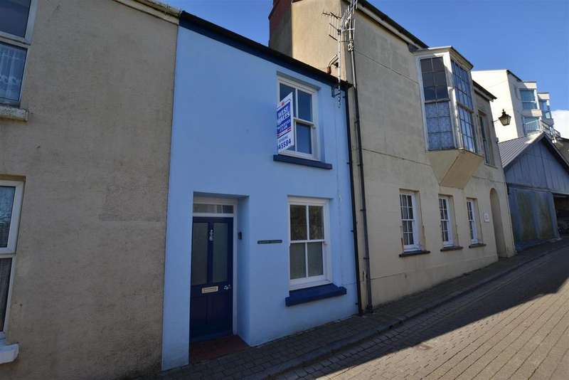 2 Bedrooms Terraced House for sale in Cresswell Street, Tenby
