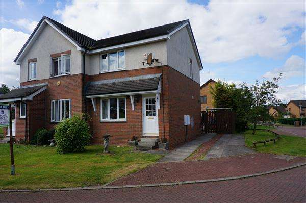2 Bedrooms Semi Detached House for sale in Lochwood Loan, Moodiesburn