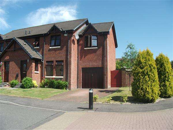 4 Bedrooms Semi Detached House for sale in Glen Orchy Place, Cumbernauld