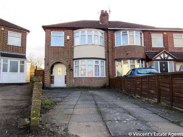 3 Bedrooms Semi Detached House for sale in Camden Road, Leicester