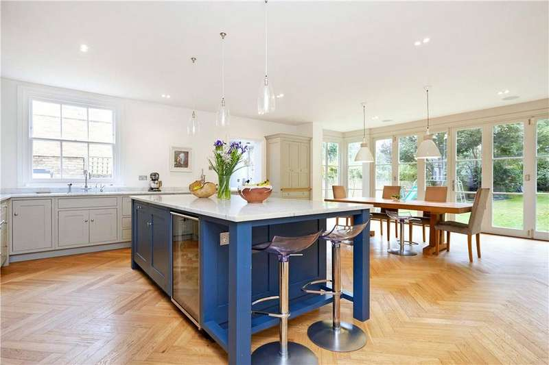 7 Bedrooms Semi Detached House for sale in Palace Road, East Molesey, Surrey, KT8