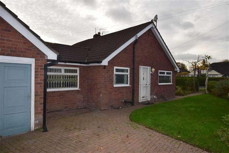 2 Bedrooms Semi Detached Bungalow for sale in Cleeve Road, Northern Moor, M23