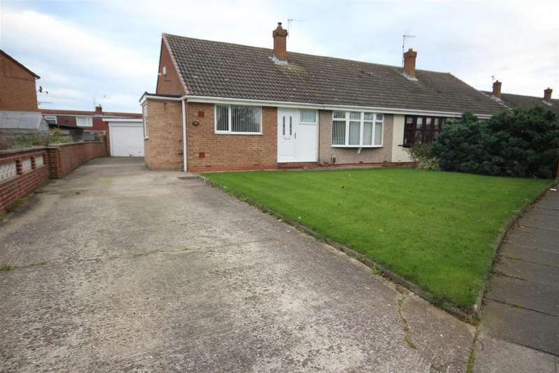 3 Bedrooms Semi Detached Bungalow for sale in Spalding Road, Fens, Hartlepool