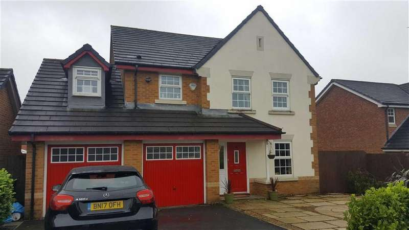 4 Bedrooms Detached House for sale in Bluebell Way, Huncoat, Lancashire, BB5