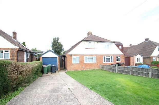 2 Bedrooms Semi Detached House for sale in Saffron Platt, GUILDFORD, Surrey