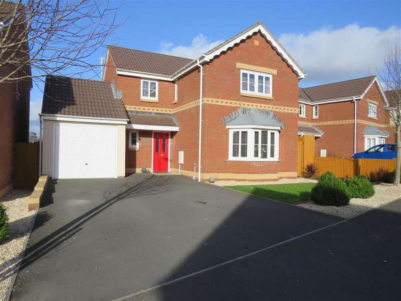 4 Bedrooms Detached House for sale in Pant Bryn Isaf, Llwynhendy, Llanelli