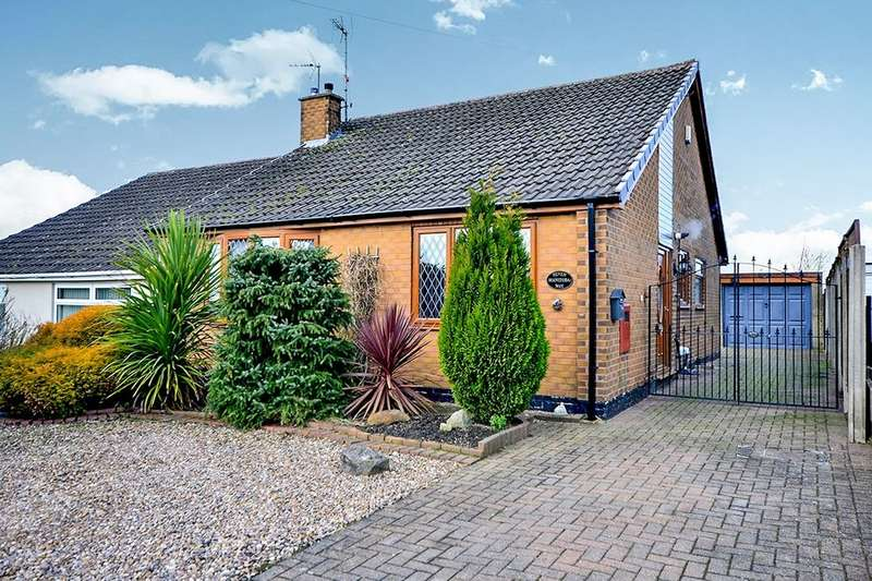 3 Bedrooms Semi Detached Bungalow for sale in Manitoba Way, Selston, Nottingham, NG16