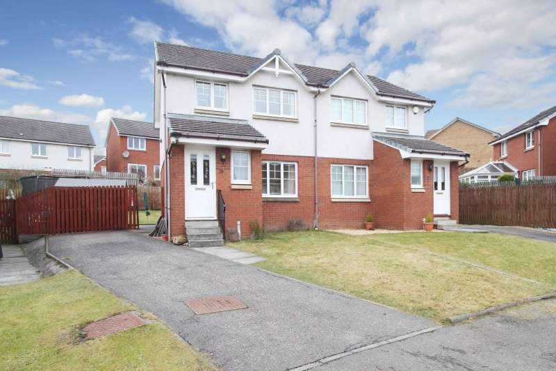 3 Bedrooms Semi-detached Villa House for sale in Glomach Grove, Dunfermline, Fife, KY12 9NQ
