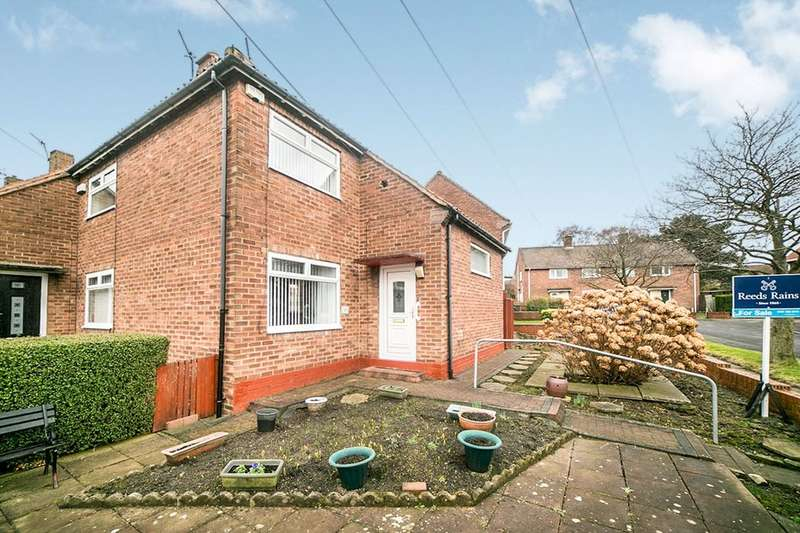2 Bedrooms Semi Detached House for sale in Moorfoot Gardens, Lobley Hill, Gateshead, NE11