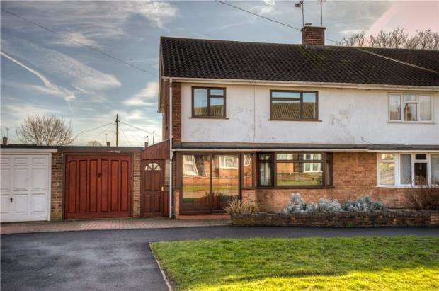 3 Bedrooms Semi Detached House for sale in Newnham Road, Lillington, Leamington Spa