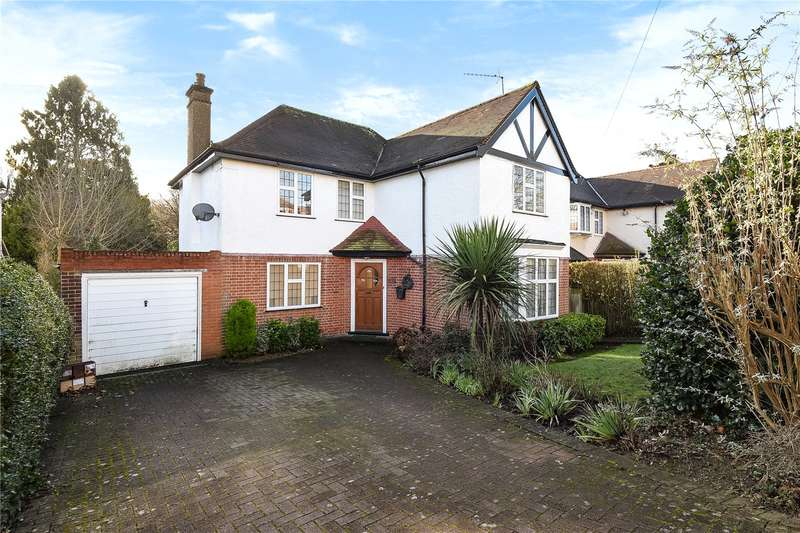 4 Bedrooms Detached House for sale in Cuckoo Hill Road, Pinner, Middlesex, HA5