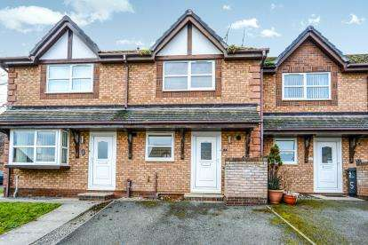 2 Bedrooms Terraced House for sale in Ward Close, Penrhyn Bay, Conwy, North Wales, LL30