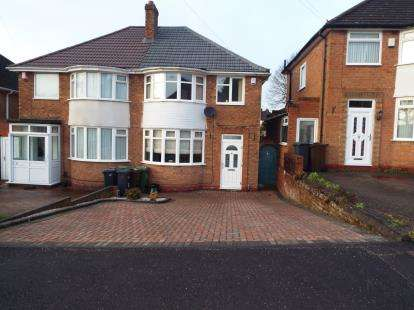 3 Bedrooms Semi Detached House for sale in Eden Road, Olton, Solihull, West Midlands