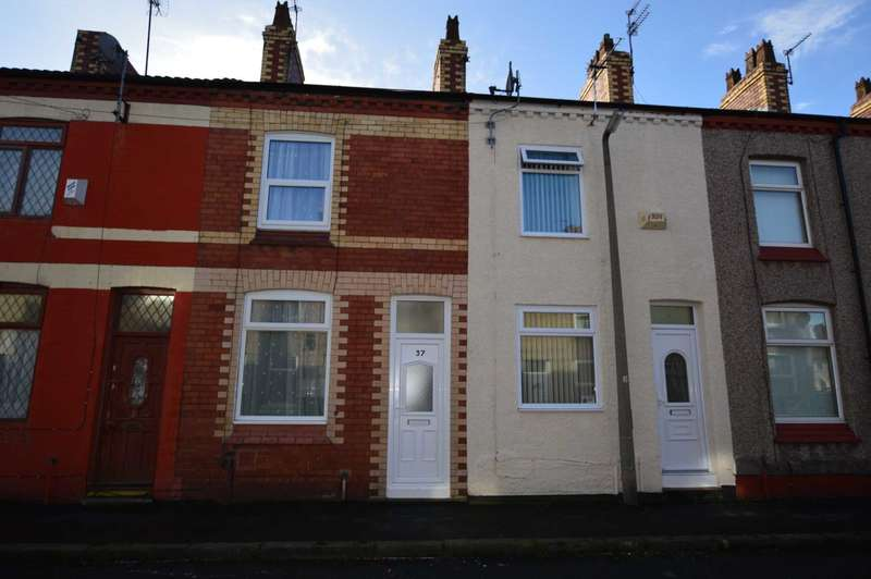 2 Bedrooms Terraced House for rent in Napier Road, Wirral