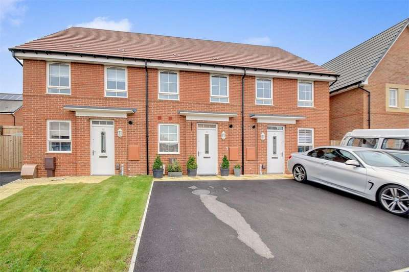 2 Bedrooms Terraced House for sale in Foxglove Way, Clanfield, Waterlooville, Hampshire