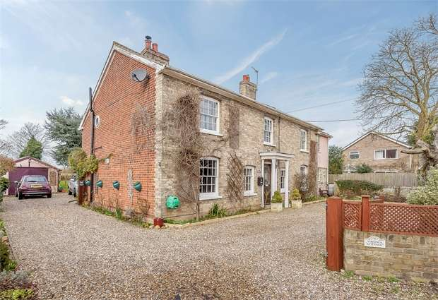 5 Bedrooms Detached House for sale in Lavenham Road, Great Waldingfield, Sudbury, Suffolk